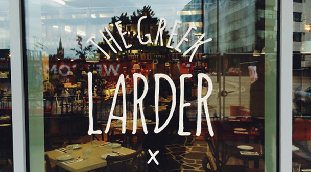 The Greek Larder Restaurant Review